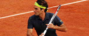 Male Tennis Player Roger Federer