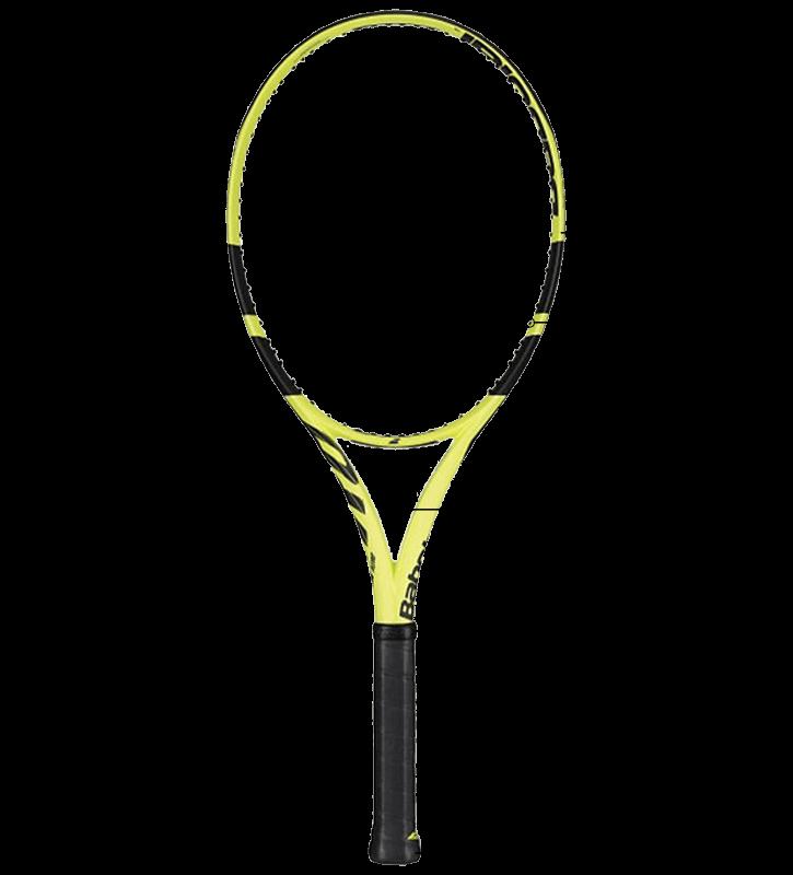 Tennis Racquet Parts Diagram with Babolat Pure Aero