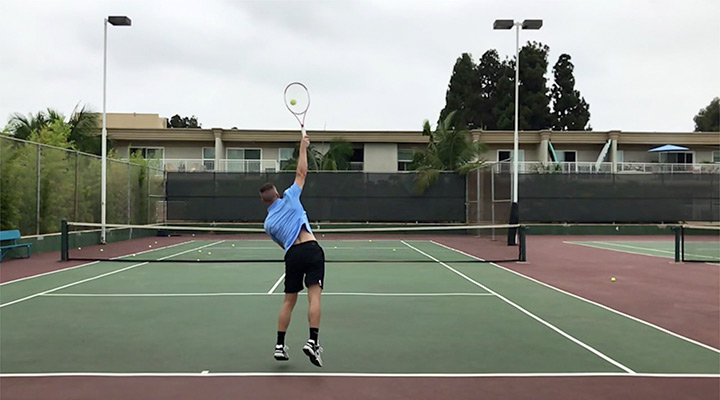 Flat Serve: Contact Point & Racquet Angle