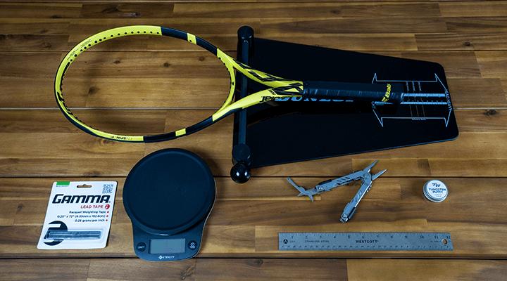 Customizing Tennis Racquet Weight, Balance, and Swingweight