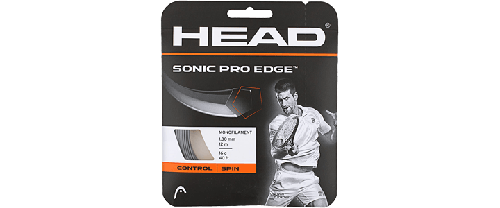Head Sonic Pro Edge - Best Polyester for Comfort