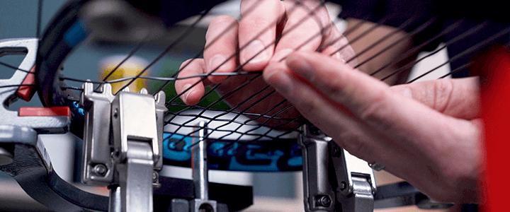 Tennis Racquet Head Size & String Tension