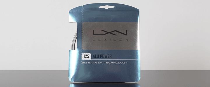 Tennis String Gauge: Sizes in Millimeters - Luxilon Alu Power