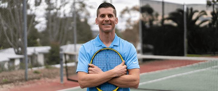 Jon Crim - TennisCompanion Founder