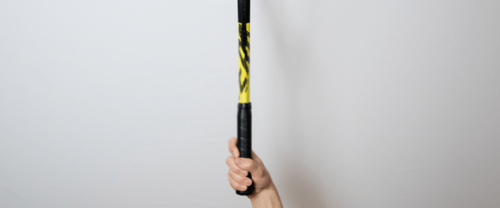 Western Forehand Tennis Grip View from Above