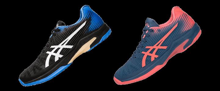 Asics Solution Speed FF: Lightweight Men's and Women's Tennis Shoe