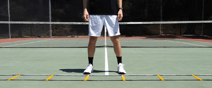 5 Easy Ladder Footwork Drills for Tennis