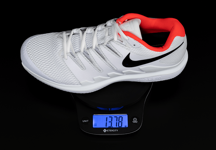 Nike Air Zoom Vapor X - Weight on Scale