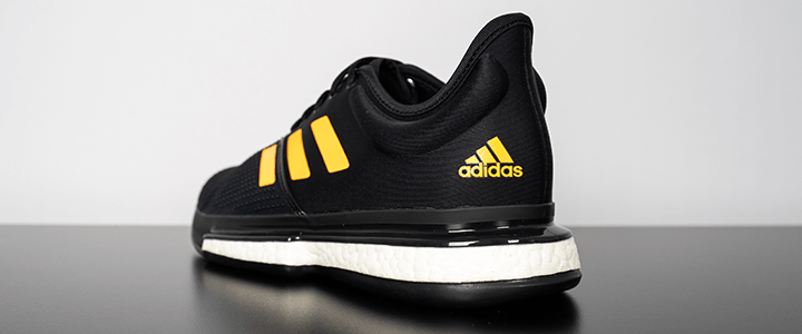 adidas SoleCourt Boost: Back Heel Angle