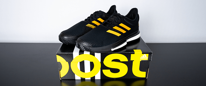 adidas SoleCourt Boost: On top of Box