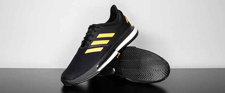 adidas SoleCourt Boost: Stacked
