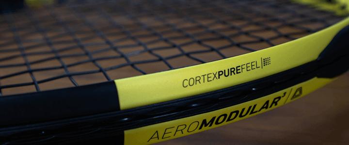 Babolat Pure Aero Cortex Pure Feel Technology