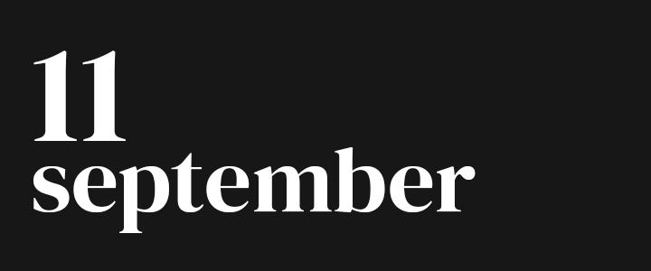 TennisCompanion Five Point Friday September 11, 2020