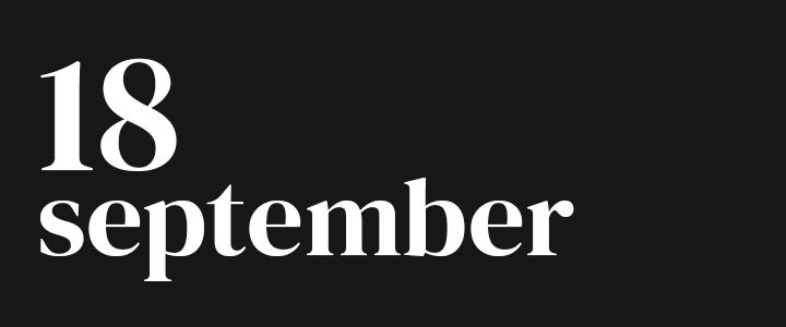 TennisCompanion Five Point Friday September 18, 2020