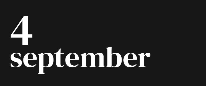 TennisCompanion Five Point Friday September 4, 2020