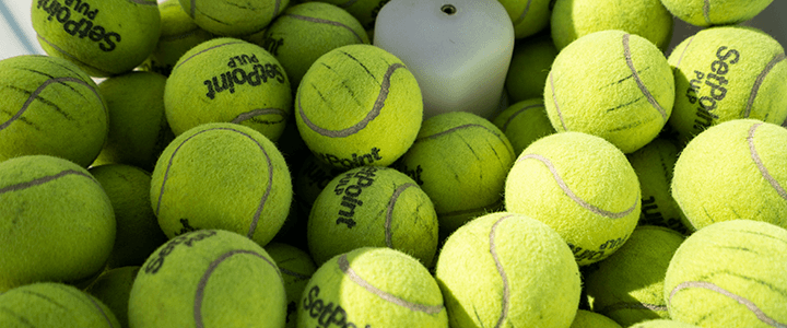 Tennis Balls for Ball Machines: Pressureless and Pressurized
