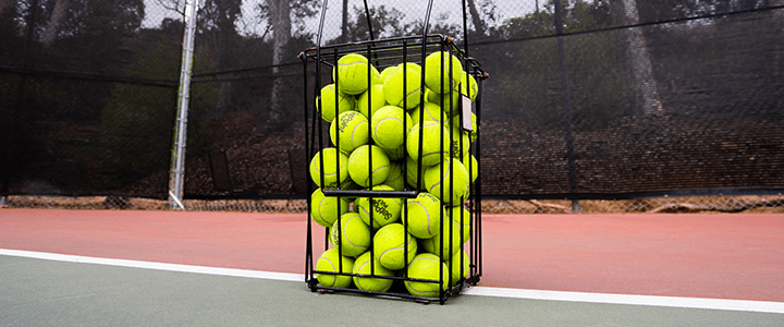 Tennis Ball Hopper Features to Consider - Size or Capacity