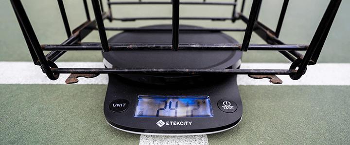 Tennis Ball Hopper Features to Consider - Weight