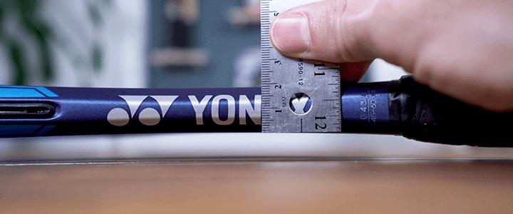 Yonex EZONE 98 Specs: Beam at the Throat