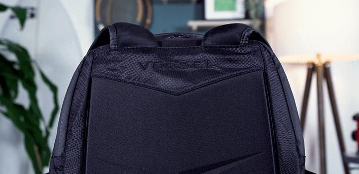 Vessel Baseline Tennis Backpack: Back Panel Logo