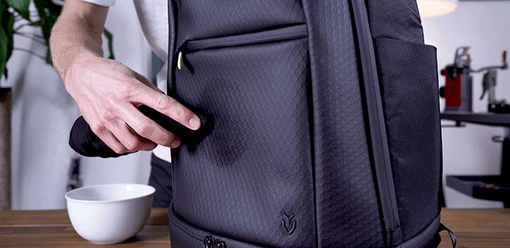 Vessel Baseline Tennis Backpack: Cleaning