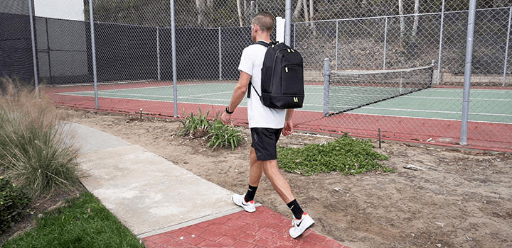 Vessel Baseline Tennis Backpack: Comfort