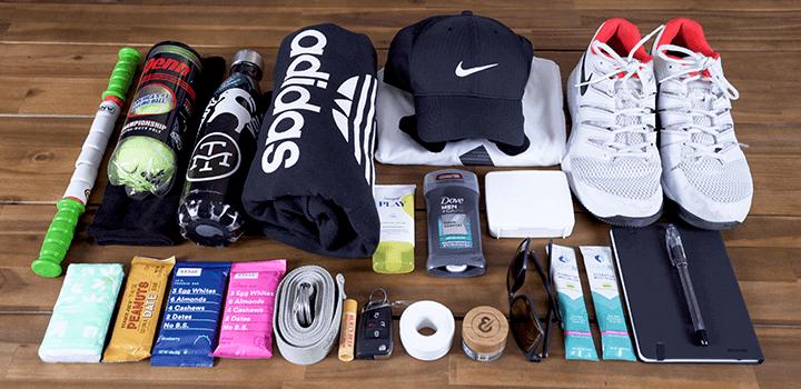 Vessel Baseline Tennis Backpack: Filling the Backpack