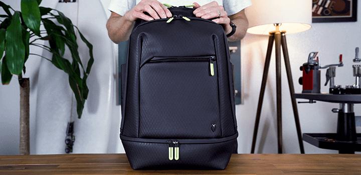 Vessel Baseline Tennis Backpack: Front Zip Pocket