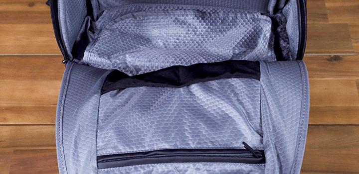 Vessel Baseline Tennis Backpack: Interior Mesh Pockets