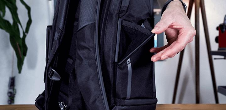 Vessel Baseline Tennis Backpack: Magnetic Side Pocket