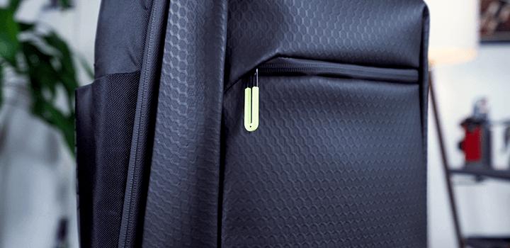 Vessel Baseline Tennis Backpack: Materials