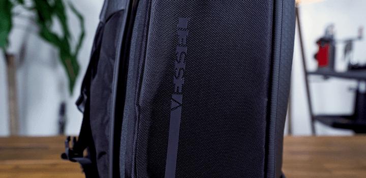 Vessel Baseline Tennis Backpack: Side Logo