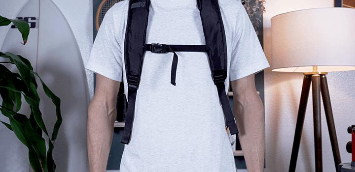 Vessel Baseline Tennis Backpack: Sternum Strap