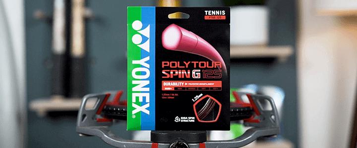 Yonex VCORE 98 Poly Tour Spin G 1.25