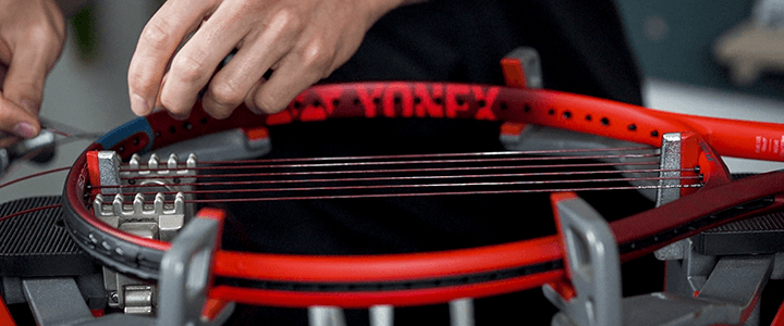 Yonex VCORE 98 Strings & Tension