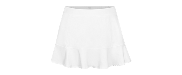 Styles of Tennis Skirts: A-line - Tail