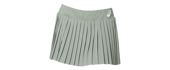 Styles of Tennis Skirts: Pleated - ASICS