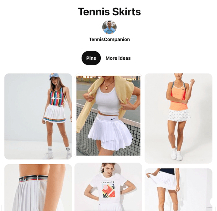 Tennis Skirt Ideas & Inspiration