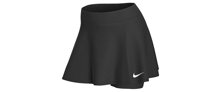 Types of Tennis Bottoms for Women - Skort
