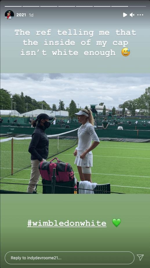 White Isn't White Enough Wimbledon