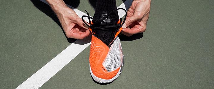 Nike React Vapor NXT Non-Traditional Lacing Loops