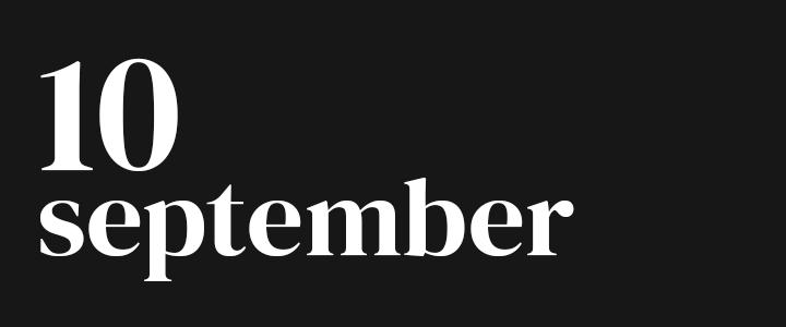TennisCompanion Five Point Friday September 10, 2021