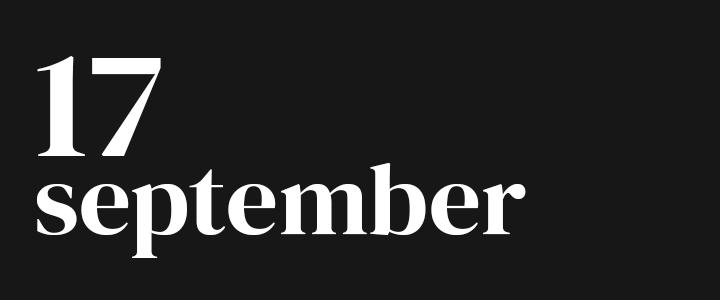TennisCompanion Five Point Friday September 17, 2021